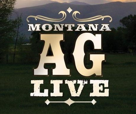 Montana Ag Live logo over photo of a ranch setting
